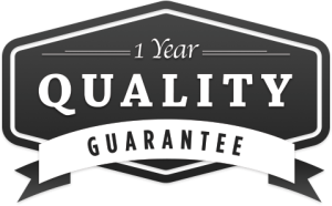 icon of 1 year quality guarantee