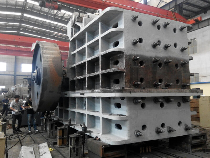 Jaw crusher manufacturing