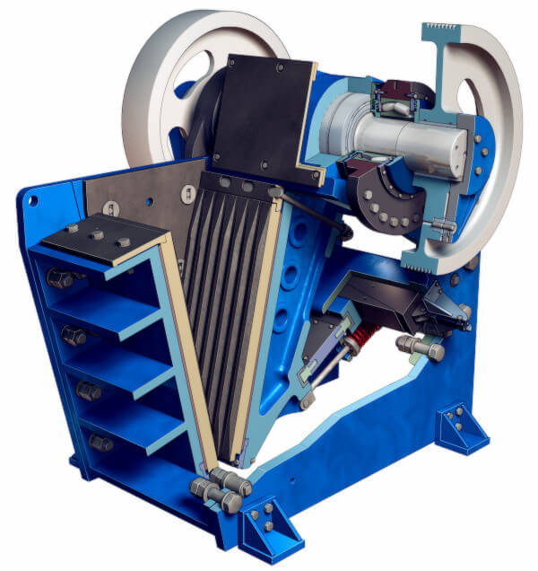 Wear & Spare Parts For Jaw Crusher - Yeco Machinery
