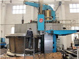 Single column 8 m vertical lathe