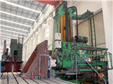 Milling and boring machine
